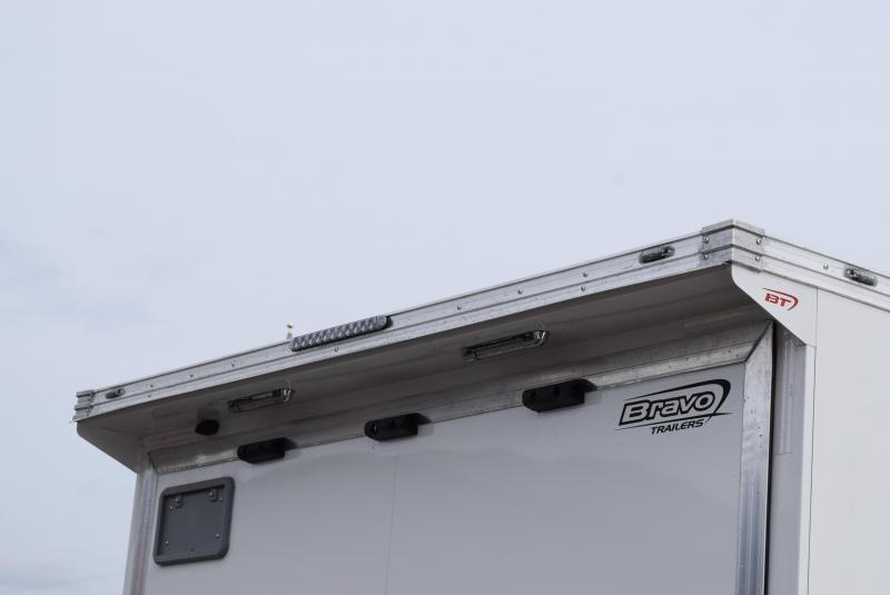 BRAVO 24' STP ENCLOSED RACE TRAILER