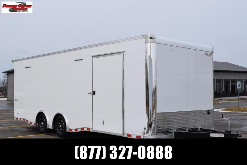 BRAVO 24' STP ENCLOSED RACE TRAILER