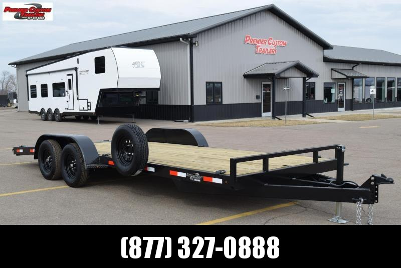 BND 20' EZ LOAD CAR HAULER w/ 3500# AXLES
