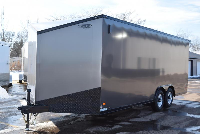 2020 BRAVO 8.5x20 SCOUT *MIDNIGHT EDITION* ENCLOSED CAR HAULER
