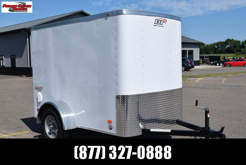 2021 BRAVO 5x8 SCOUT ENCLOSED CARGO TRAILER