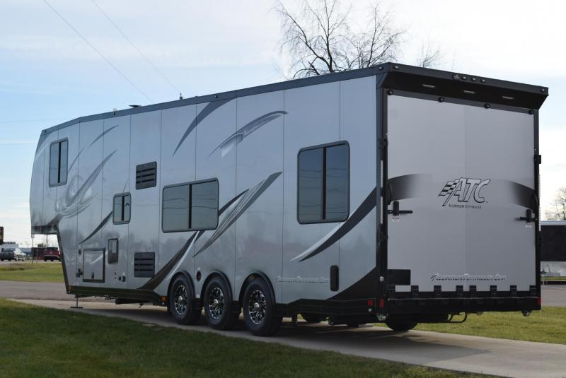2020 ATC 40' ALL ALUMINUM 5TH WHEEL TOY HAULER