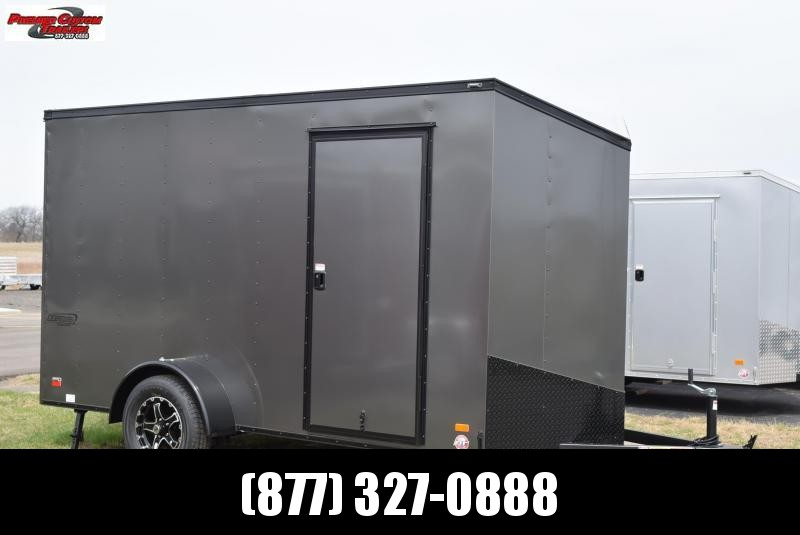 BRAVO 6x12 SCOUT MIDNIGHT EDITION ENCLOSED CARGO TRAILER