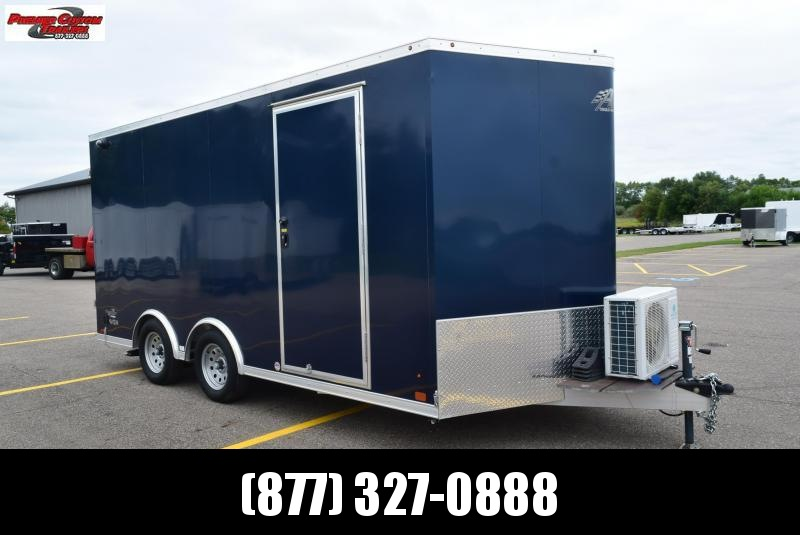 USED 2018 ATC RAVEN 8.5x16 TINY HOUSE TRAILER