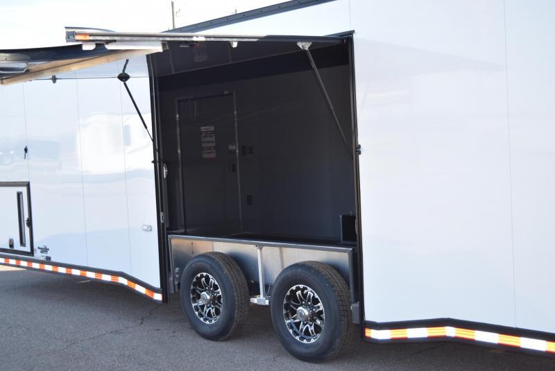 2021 BRAVO 28' STP ENCLOSED RACE TRAILER