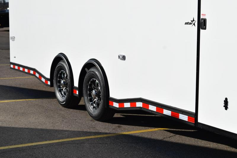 2020 BRAVO 28' STP ENCLOSED RACE TRAILER