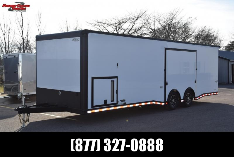 BRAVO 28' STP ENCLOSED RACE TRAILER