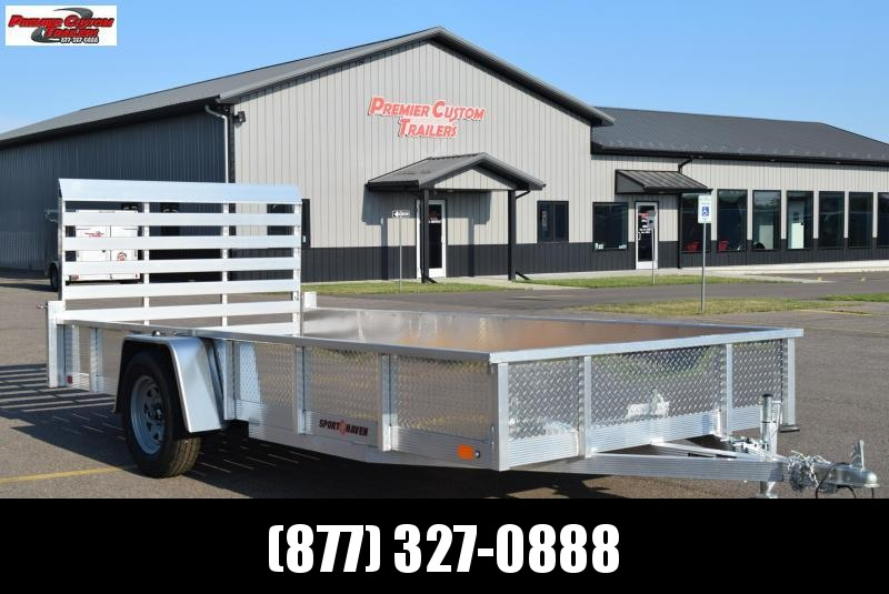2021 SPORT HAVEN 6x14 OPEN UTILITY TRAILER w/ SIDES