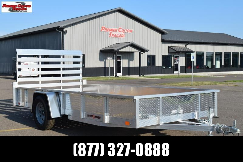 SPORT HAVEN 6x14 OPEN UTILITY TRAILER w/ SIDES