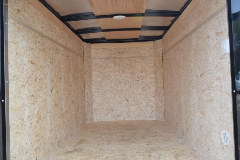 BRAVO 5x8 SCOUT ENCLOSED CARGO TRAILER w/ REAR DOUBLE DOORS