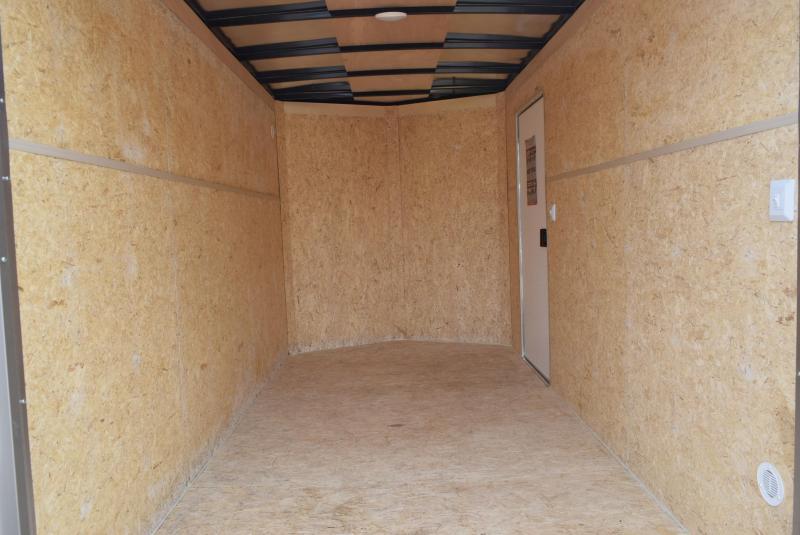 BRAVO 6x12 SCOUT ENCLOSED CARGO TRAILER w/ DOUBLE DOORS