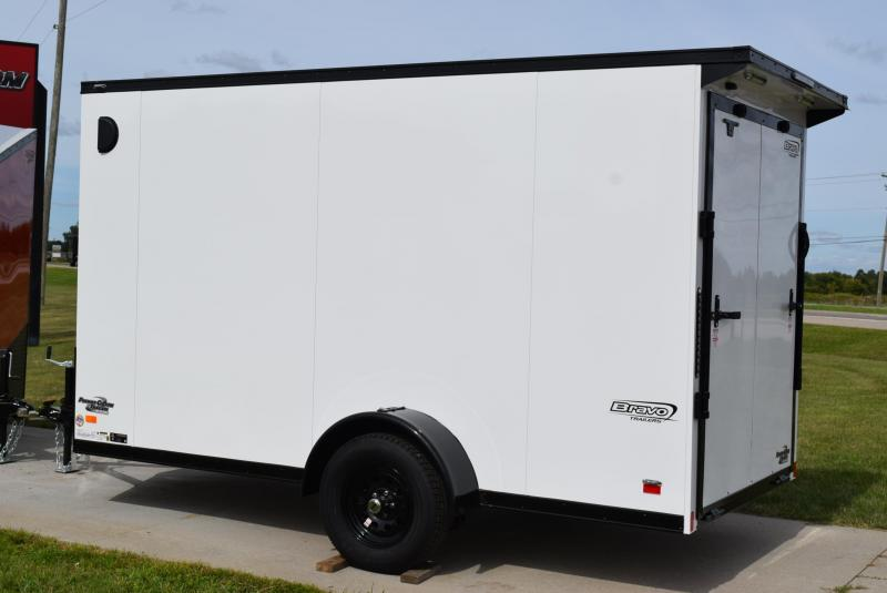 2021 BRAVO 6x12 SCOUT *MIDNIGHT EDITION* ENCLOSED CARGO TRAILER