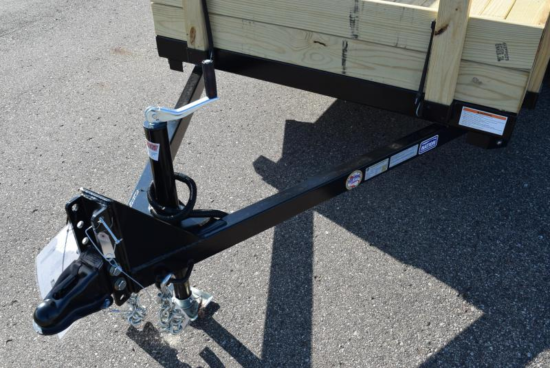 2021 NATION 5x8 UTILITY TRAILER W/ REMOVEABLE 3-BOARD SIDES