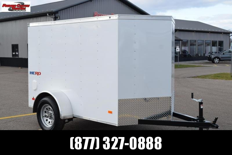 BRAVO HERO 5x8 ENCLOSED CARGO TRAILER