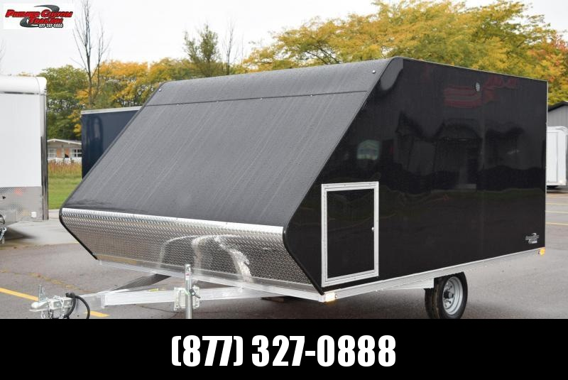 2021 SPORT HAVEN 12' HYBRID ENCLOSED SNOWMOBILE TRAILER