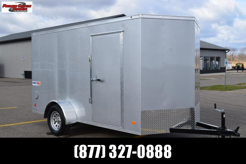 2021 BRAVO HERO 6x12 ENCLOSED CARGO TRAILER