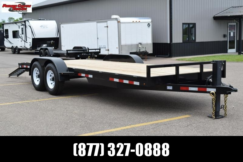 2020 NATION 18+2 CHANNEL BOBCAT 14K EQUIPMENT TRAILER
