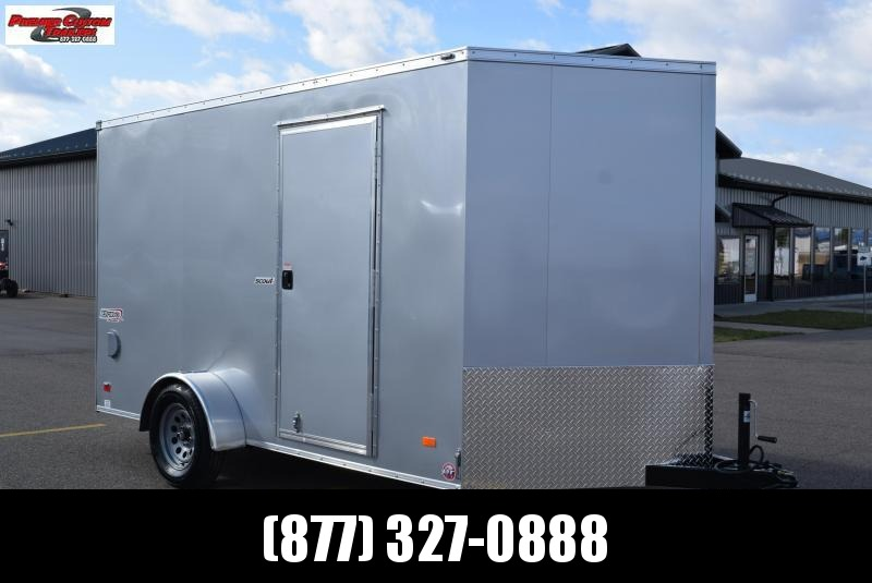 BRAVO 7x12 SCOUT ENCLOSED CARGO TRAILER W/ ELECTRIC BRAKES
