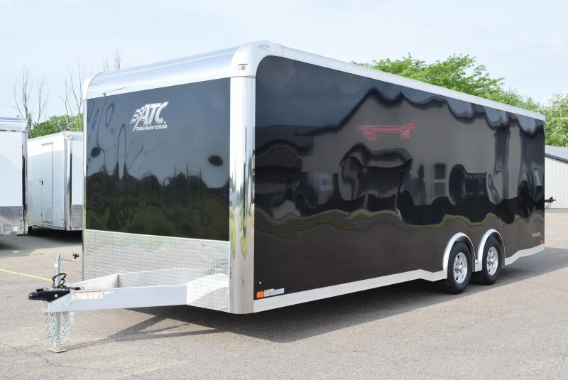 2020 ATC ALL ALUMINUM 8.5x24 RAVEN ENCLOSED CAR HAULER