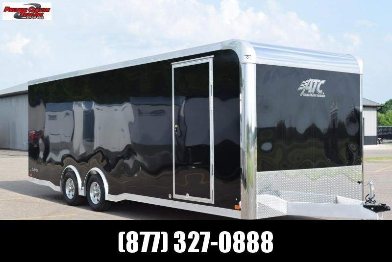 ATC ALL ALUMINUM 8.5x24 RAVEN ENCLOSED CAR HAULER