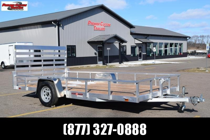 SPORT HAVEN 7x14 OPEN UTILITY TRAILER