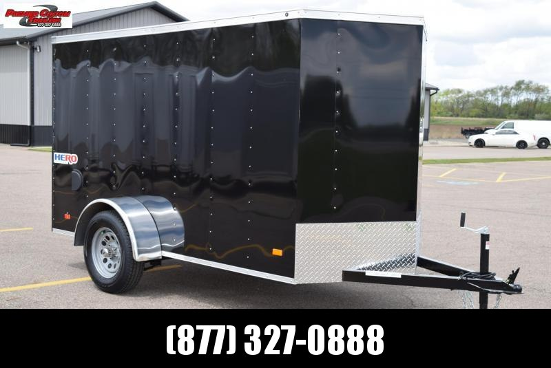 BRAVO HERO 5x10 ENCLOSED CARGO TRAILER