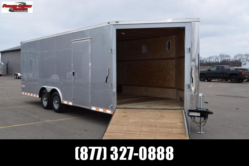 BRAVO STAR 8.5x25 COMBO SNOWMOBILE/CAR HAULER