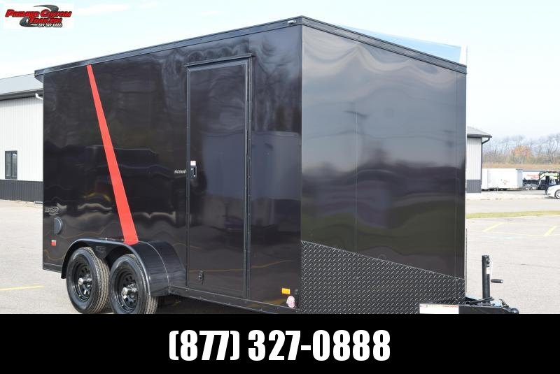 BRAVO 7x14 SCOUT *MIDNIGHT EDITION* ENCLOSED CARGO TRAILER