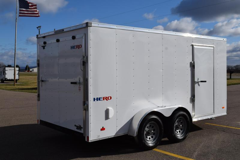 BRAVO HERO 7x14 ENCLOSED CARGO TRAILER