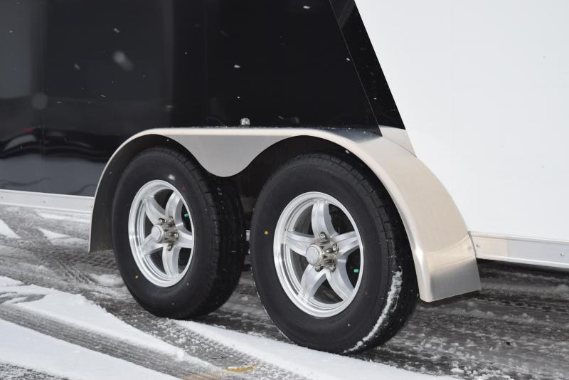 2020 RAVEN 26' ENCLOSED SNOWMOBILE/UTV TRAILER w/SNOW PACKAGE