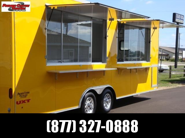 8.5x24 CUSTOM CONCESSION TRAILER