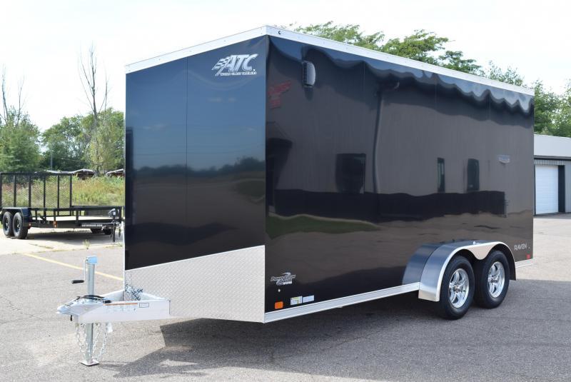 ATC 7x16 RAVEN ALUMINUM CARGO TRAILER