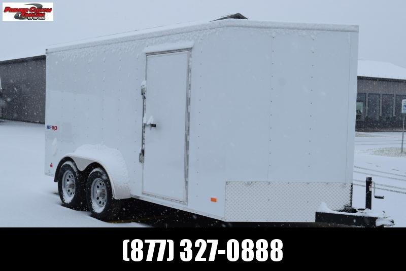 2021 BRAVO HERO 7x14 ENCLOSED CARGO TRAILER