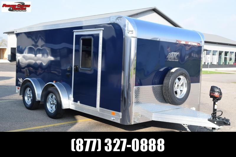 USED 2019 ATC 7.5x14 QUEST MC300 MOTORCYCLE TRAILER