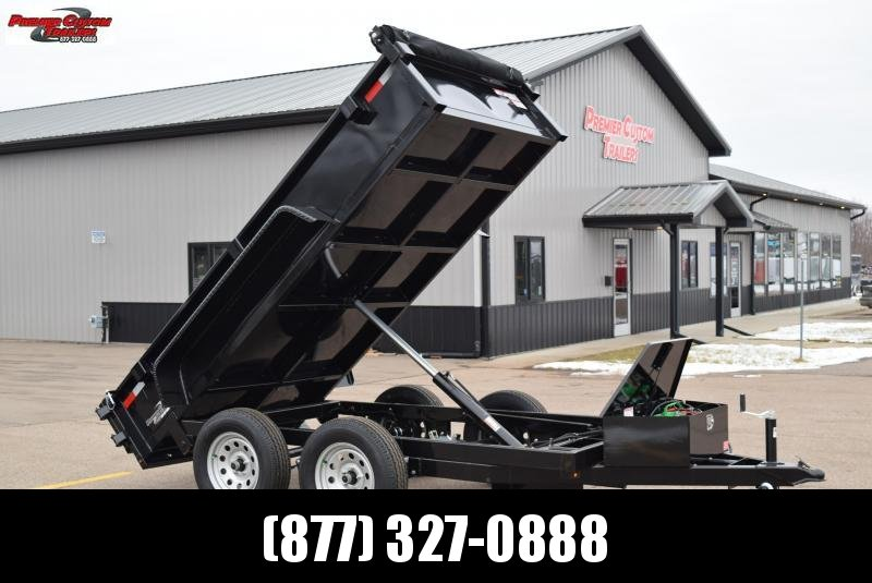 "GRIFFIN 60""X10' LOW PRO DUMP TRAILER"