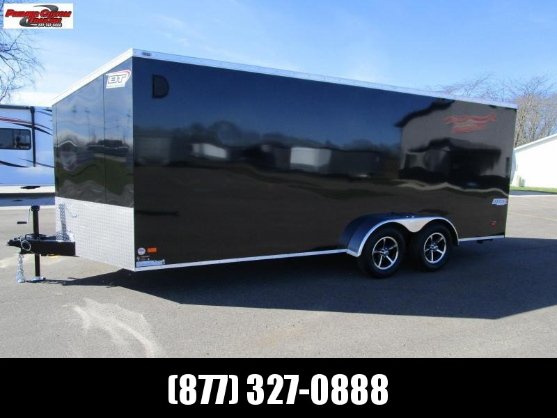 2021 BRAVO 7x18 SCOUT 4 PLACE ENCLOSED MOTORCYCLE TRAILER