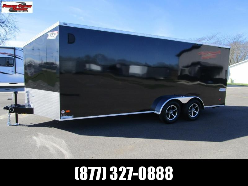 BRAVO 7x18 SCOUT 4 PLACE ENCLOSED MOTORCYCLE TRAILER