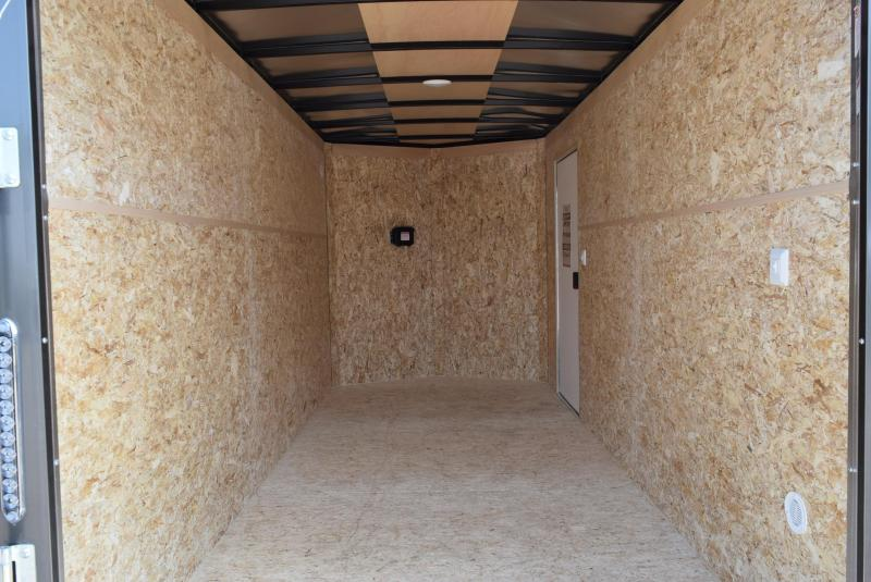 2021 BRAVO 6x14 SCOUT ENCLOSED CARGO TRAILER W/ ELECTRIC BRAKES
