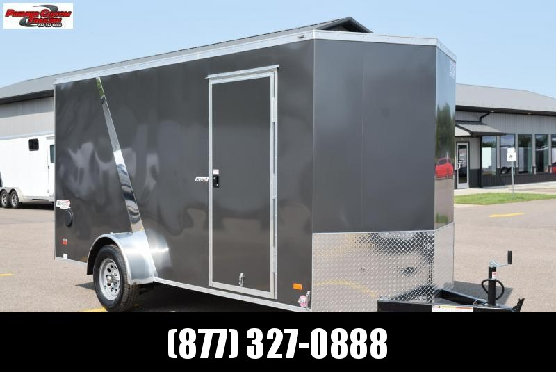 BRAVO 6x14 SCOUT ENCLOSED CARGO TRAILER W/ ELECTRIC BRAKES