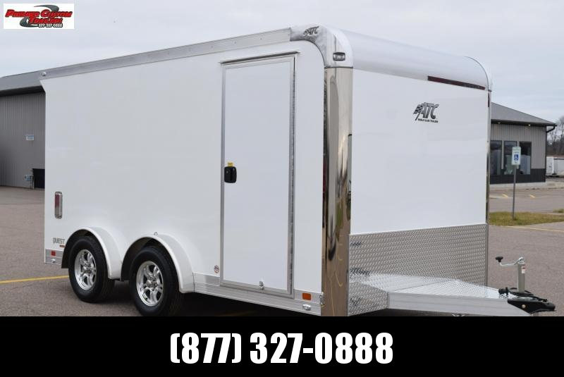 ATC 7.5x14 QUEST MC300 ENCLOSED MOTORCYCLE TRAILER