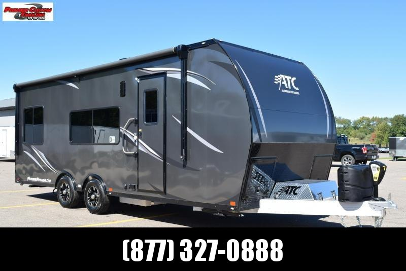 2020 ATC ALL ALUMINUM 8.5X24 TOY HAULER