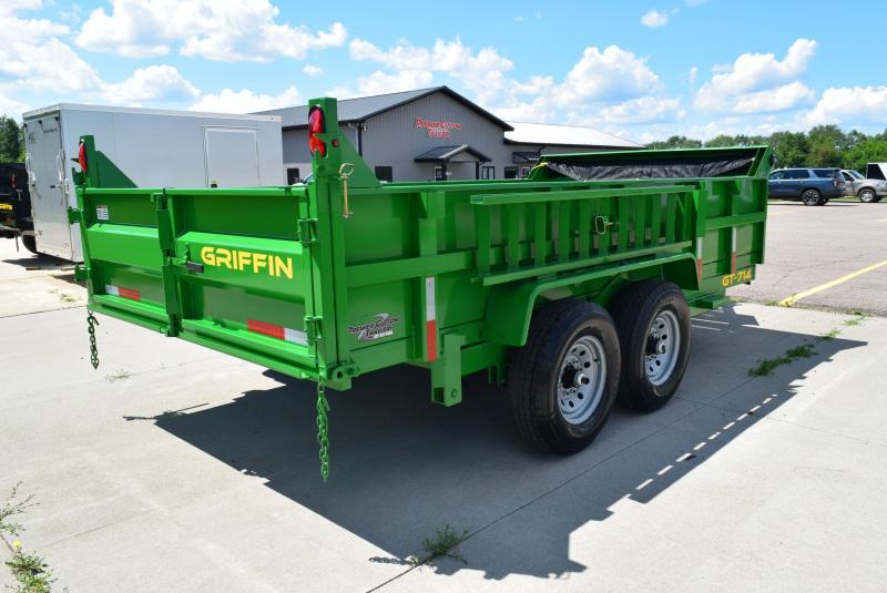 GRIFFIN 83 x 14 14K LOW PRO DUMP TRAILER