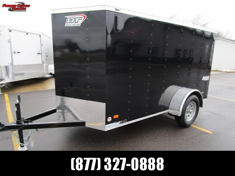 BRAVO 5x10 SCOUT ENCLOSED MOTORCYCLE TRAILER