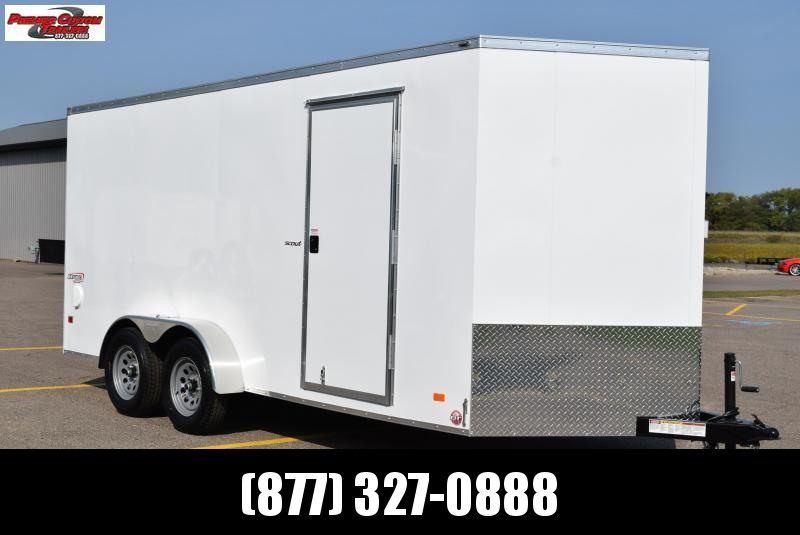 2021 BRAVO 7x16 SCOUT ENCLOSED CARGO TRAILER