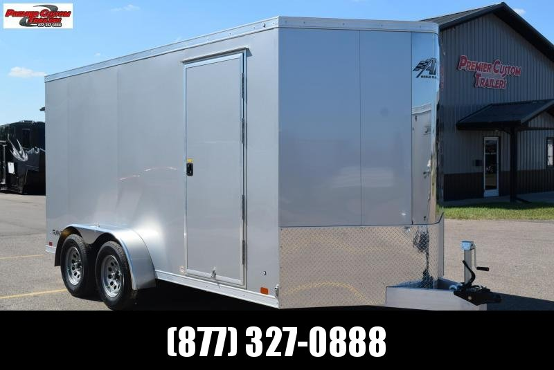 2021 ATC ALL ALUMINUM 7x14 RAVEN CARGO TRAILER