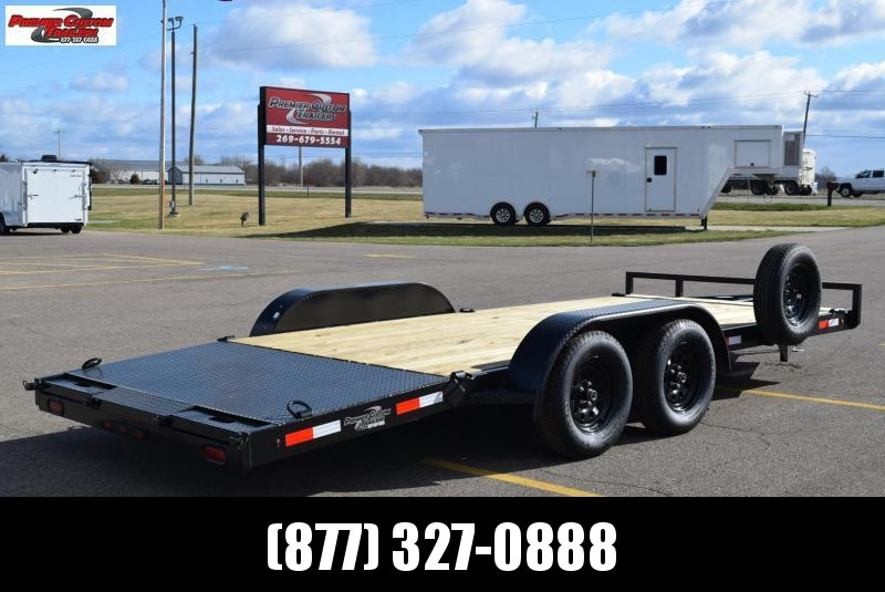 BND 18' EZ LOAD CAR HAULER w/ 3500# AXLES
