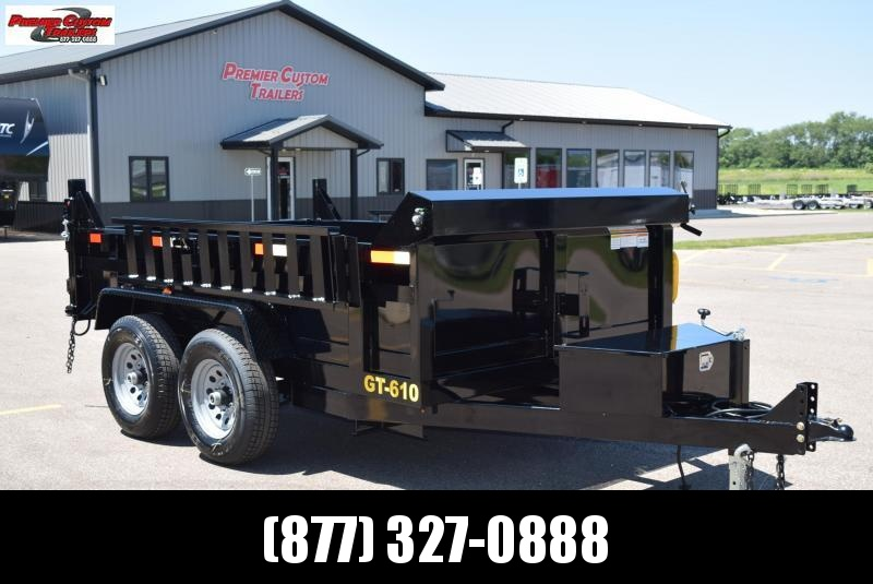 "2020 GRIFFIN 72"" X 10' 10K Low Pro Dump Trailer"