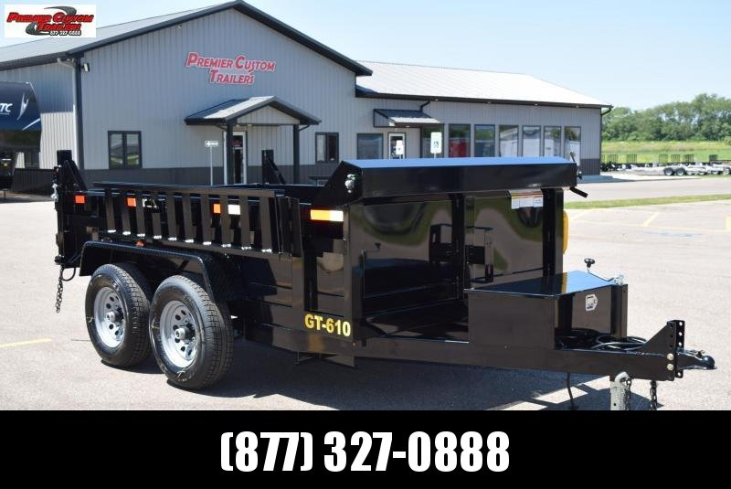 "GRIFFIN 72"" X 10' 10K Low Pro Dump Trailer"