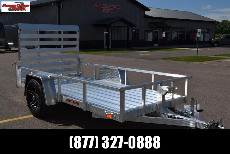 SPORT HAVEN 5x10 DELUXE SERIES UTILITY TRAILER