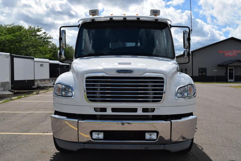 2014 Freightliner M2 106 & ATC All Aluminum Gooseneck Trailer